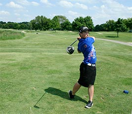 Golf photo Andrew Maier