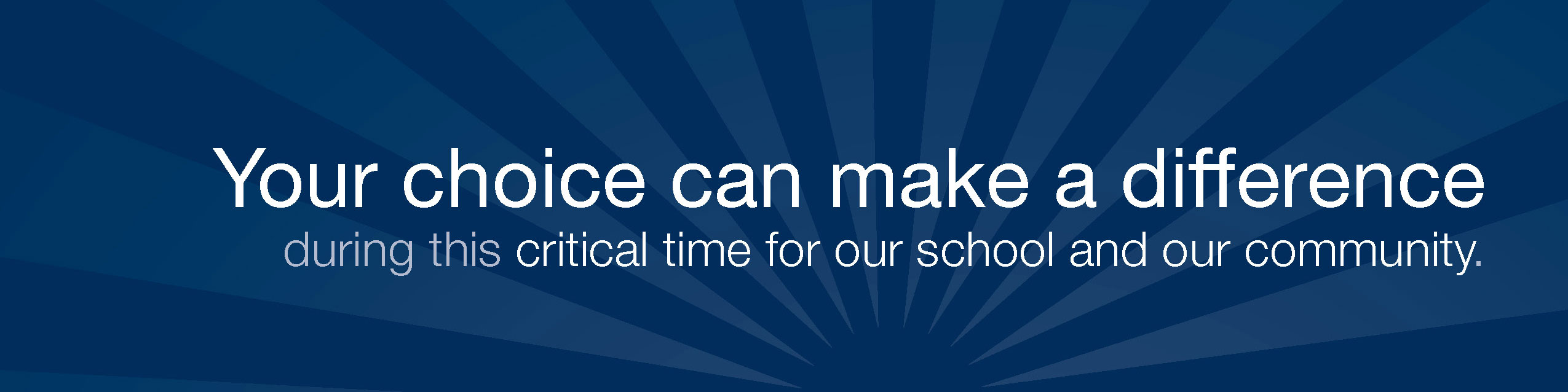 MCDS Fund: Your choice can make a difference during this critical time for our school and our community.